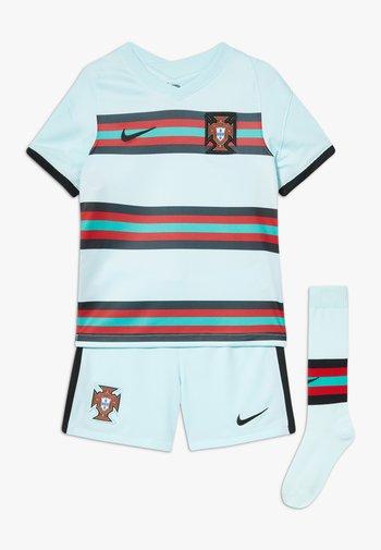 PORTUGAL FPF LK NK BRT KIT AW SET - Sports shorts - teal tint/black