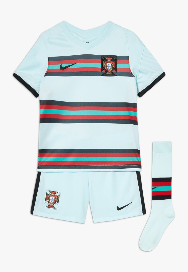 Nike Performance - PORTUGAL FPF LK NK BRT KIT AW SET - Sports shorts - teal tint/black