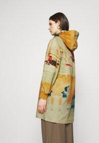 Desigual - VENECIA - Krótki płaszcz - yellow - 2