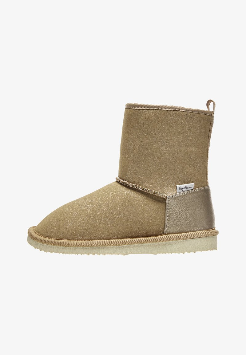 Pepe Jeans - SHINY - Winter boots - golden