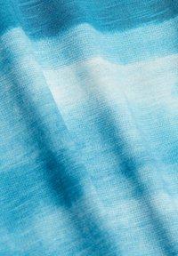 Esprit - FASHION SLUB - Print T-shirt - petrol blue - 9