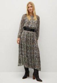 Violeta by Mango - BENGALA - Maxi dress - gris - 1