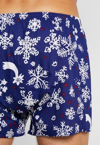 Lousy Livin Underwear - SNOW FLAKES - Boxer shorts - night blue - 2