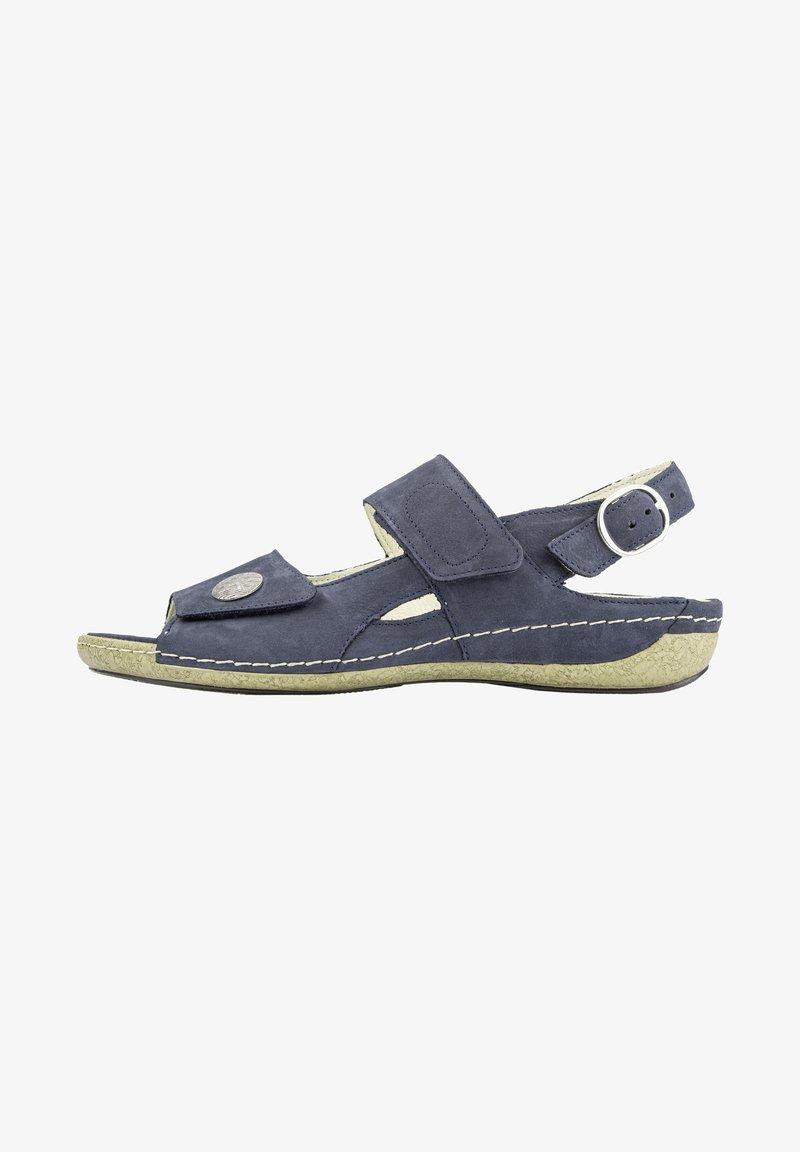 Waldläufer - Sandals - marine