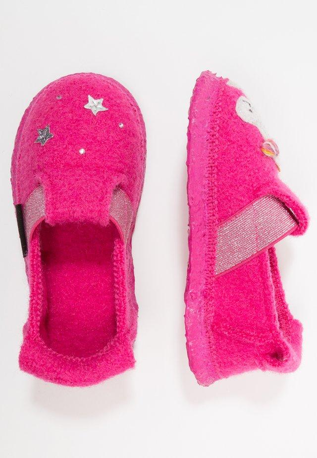 UNICORN - Slippers - himbeere