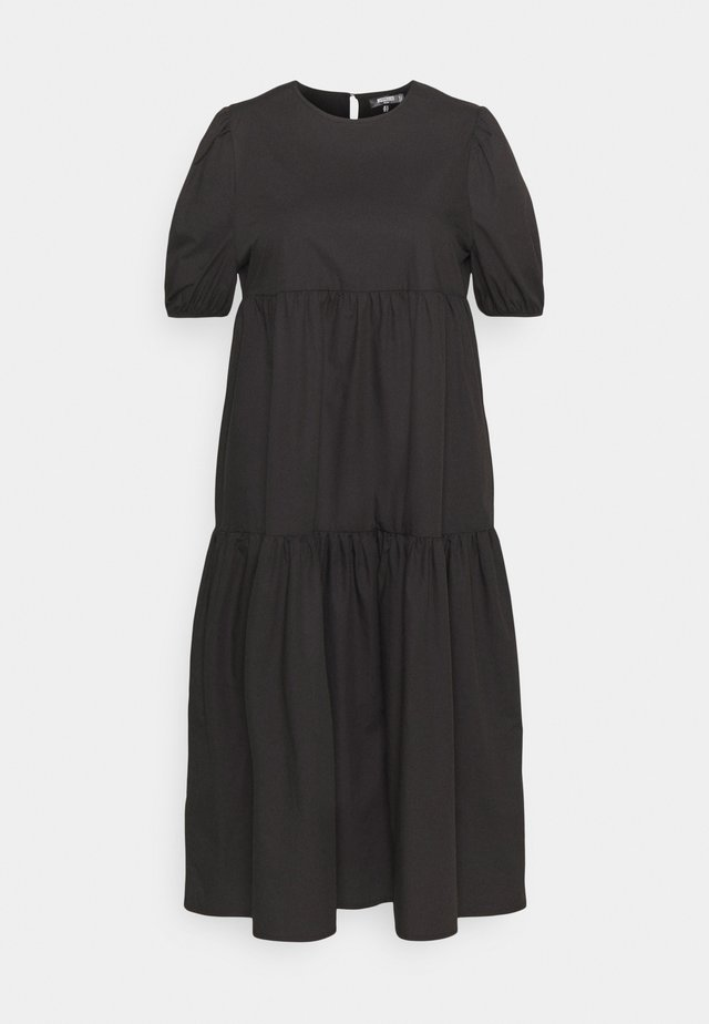 MIDAXI SMOCK DRESS - Maxi šaty - black