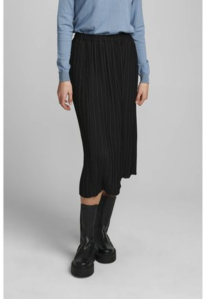 ABBYGAIL SKIRT - Pleated skirt - caviar