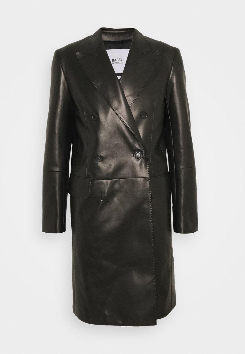 Bally - Klasický kabát - black