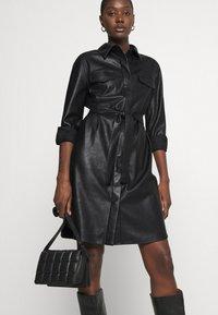 Opus - WELONI - Robe chemise - black - 4