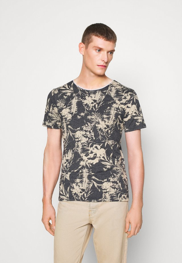 THRILL ROUND - T-shirt con stampa - anthracite