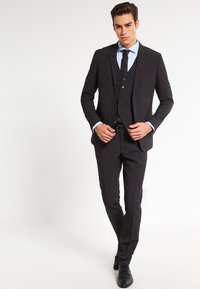 Lindbergh - PLAIN MENS SUIT - Traje - dark grey - 1