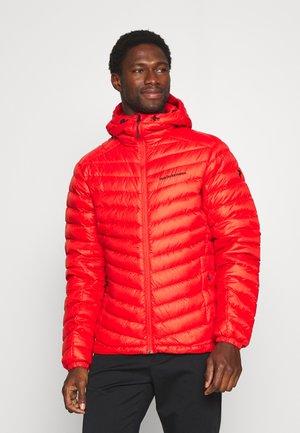 FROST HOOD JACKET - Gewatteerde jas - racing red