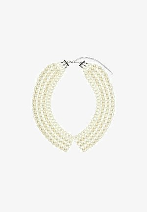 KRAGEN PERLEN - Necklace - gardenia