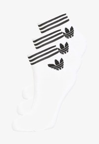 adidas Originals - TREFOIL ANK 3 PACK - Socken - white - 0