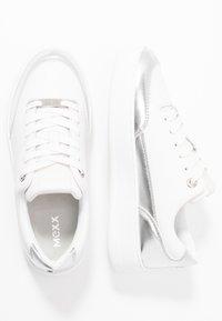 Mexx - ELIZA - Sneakersy niskie - white/silver - 3