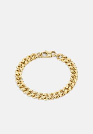 CUBAN LINK CHAIN BRACELET UNISEX - Bracelet - gold-coloured