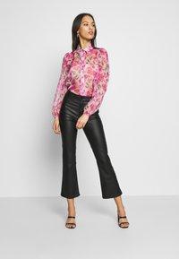 Missguided - SHEER ROSE SHIRT - Blouse - pink - 1