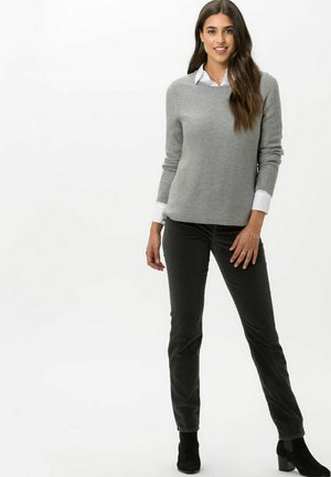 SHAKIRA - Slim fit jeans - faded graphit