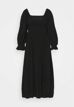 LILLI SASANE DRESS - Freizeitkleid - black