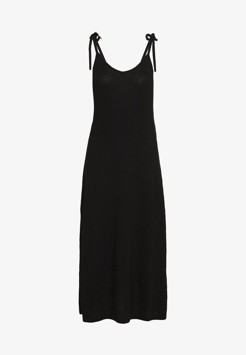 Pieces - PCNEORA ANKLE DRESS - Maxi dress - black