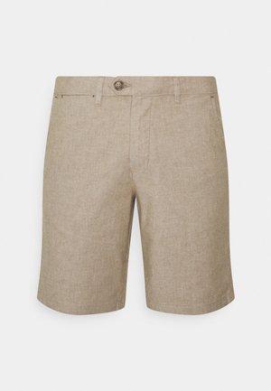 SLHMILES FLEX - Shortsit - beige