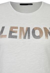 LeComte - Print T-shirt - Weiß - 2
