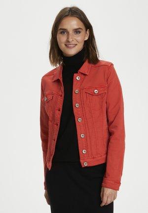 RIKKACR - Denim jacket - aurora red