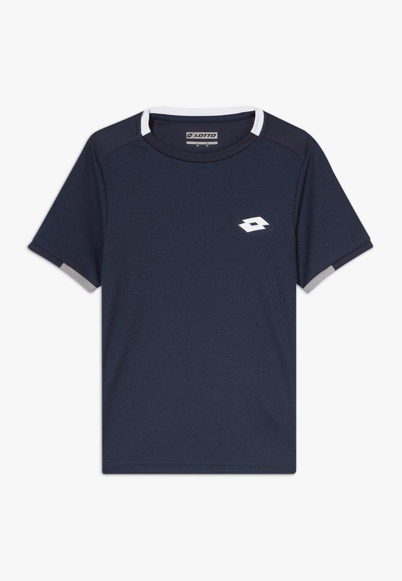 Lotto - SQUADRA TEE  - Triko spotiskem - navy blue