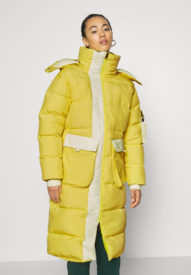 Down coat - lemon/barely volt/neptune green