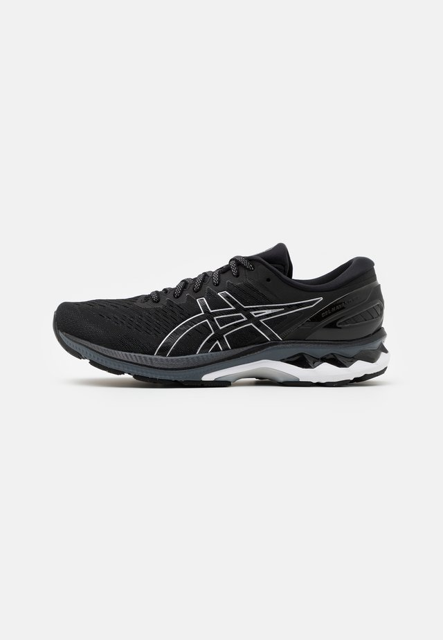 GEL KAYANO 27 - Løbesko stabilitet - black/pure silver