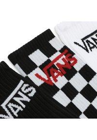 Vans - MN CLASSIC CREW - Strumpor - black-checkerboard - 1