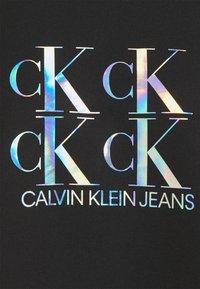 Calvin Klein Jeans - SHINE LOGO CREW NECK - Sweatshirt - black - 2