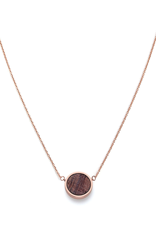 Kerbholz Halskette - Rose Gold-coloured/roségoldfarben