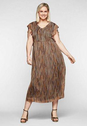 Day dress - karamell