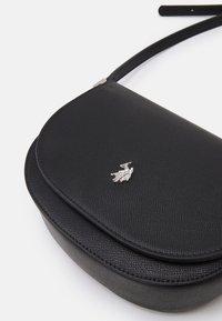 U.S. Polo Assn. - JONES FLAP BAG - Across body bag - black - 4