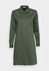 Shirt dress - dunkelgrün