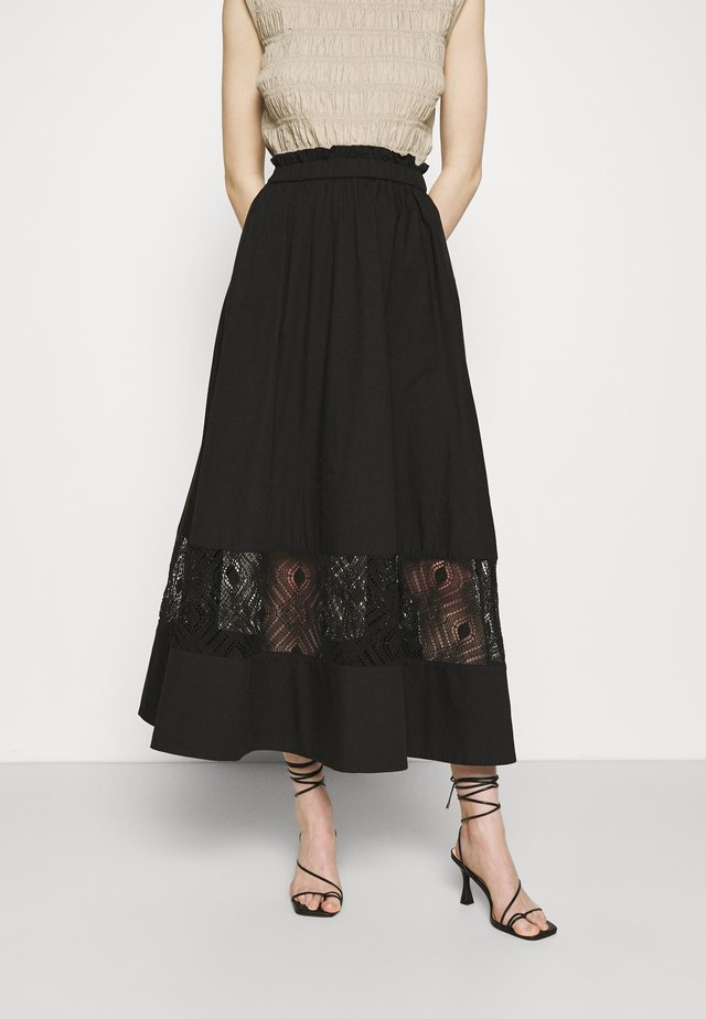 SAHELL SKIRT - A-line skirt - black