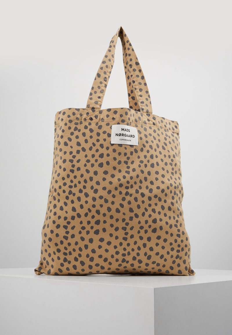 Mads Nørgaard - ATOMA - Shopping bags - beige/navy