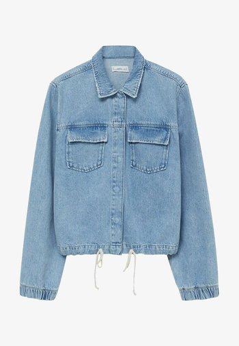 NICOLE - Denim jacket - mittelblau