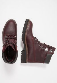 Timberland - LONDON SQUARE 6IN BOOT - Lace-up ankle boots - bordeaux - 3