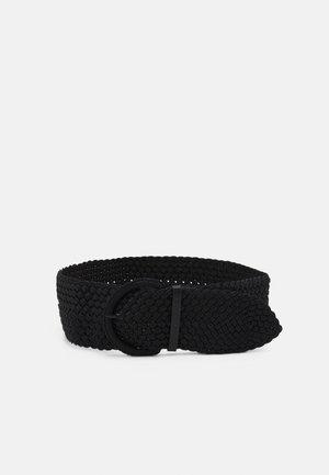 ELLA - Flettet belte - black