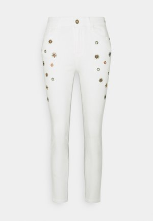 DENIM_AUSTRIA - Jeansy Skinny Fit - white