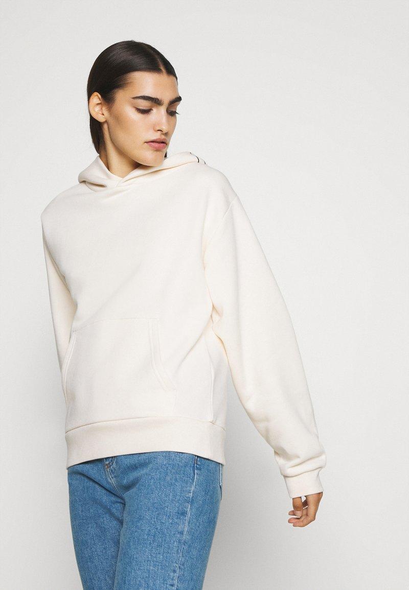 CLOSED - Hoodie -  white