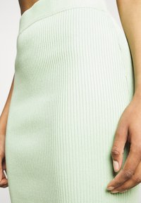 Missguided - BUTTON TIE BACK CAMI SKIRT SET - Top - green - 6