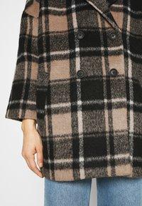 JUST FEMALE - CHELSEA COAT - Zimní kabát - walnut - 6