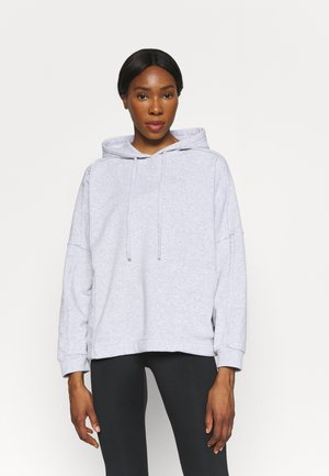 LIFESTYLE RELAXED HOODIE - Sweatshirt - grey marle