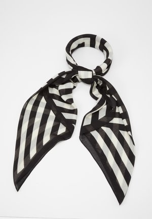 Halsdoek - black/white