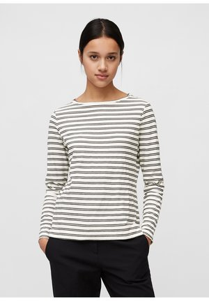 Long sleeved top - multi/ off white