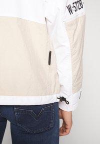 Diesel - J-REED JACKET - Summer jacket - cream - 5