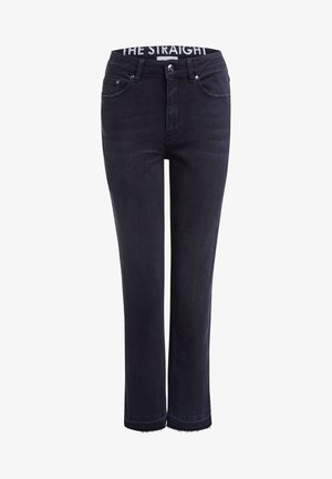 Straight leg jeans - dark grey